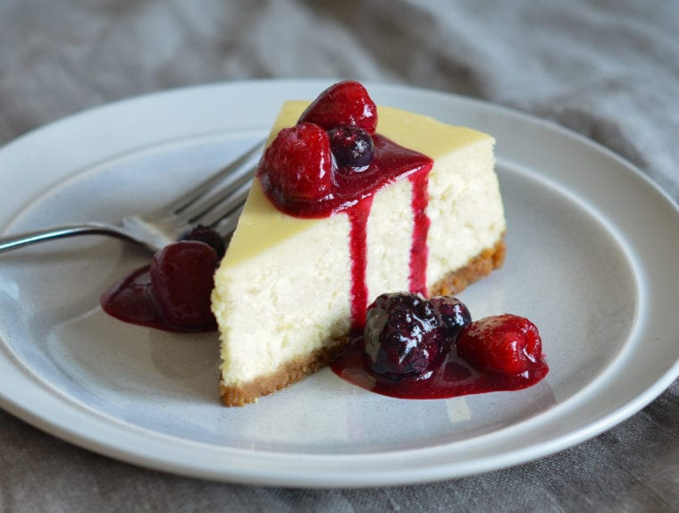 Recette facile d'un cheese-cake new-yorkais